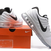 """Nike Air Max 2017"" Men Sport Casual Air Cushion Sneakers Running Shoes"