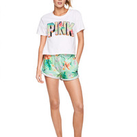 High Waist Short - PINK - Victoria's Secret