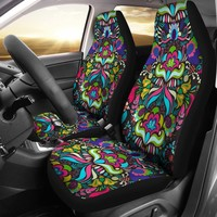 Bohemian Floral Car Seat Covers