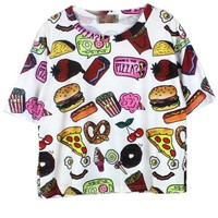 Cute Food Collection Tee - OASAP.com