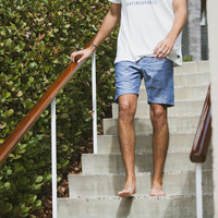 CHAMBRAY SHORTS // INDIGO