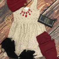 Super Soft Leggings: Burgundy