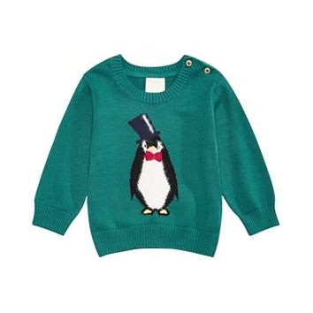 First Impressions Baby Boys Penguin Sweater,  Various Sizes, Colors