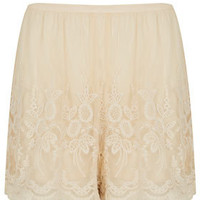 Lace Embroidered Shorts - New In This Week  - New In