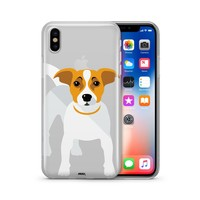 Jack Russell Terrier - Clear TPU Case Cover