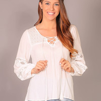 Playful You Top - Ivory