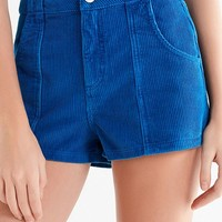 UO High-Rise Corduroy Short | Urban Outfitters