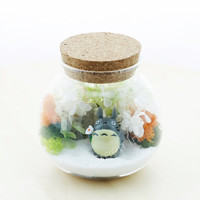 terrarium container/ glass terrarium/ terrarium glass/ corked bottle/ corked glass bottle/ glass corked bottle/ jar/ glass/ bottle/ corked