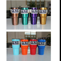 1pcs YETI Stainless Steed Insulated Tumbler Mug Handle Car High Capacity Mugs With Lid Popular Milk Tea Coffee Cup Travel Mug Y