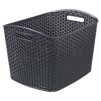 Y Weave Extra Large Storage Bin - Black - Room Essentials™