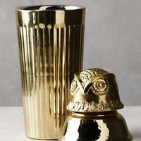 Winterwood Animal Cocktail Shaker by Anthropologie in Shiny