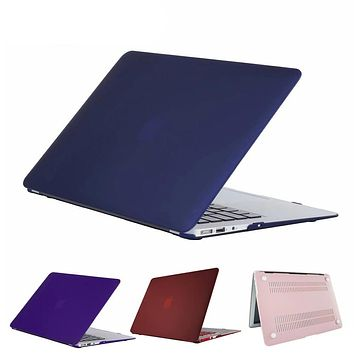 RYGOU Macbook Pro 13 15 Case Matte finish Frosted Cover