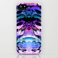 Purple Wild Mix iPhone & iPod Case by Ornaart