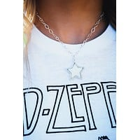 Such A Star Necklace: Silver