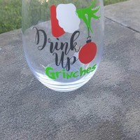 Drink Up Grinches Christmas Ball