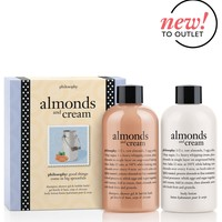 almonds and cream   bath & body duo   philosophy outlet