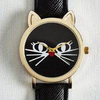 Critters Feline Is of the Essence Watch by ModCloth