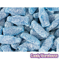 Blue Sour Gummy Cola Bottles: 5.5LB Bag | CandyWarehouse.com Online Candy Store
