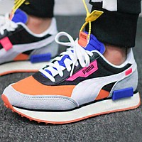 PUMA FUTURE RIDER PLAY ON Retro contrast color casual shoes running shoes