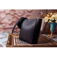 CELINE SEAU SANGLE SMALL LEATHER BACKPACK BAG