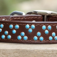 """Gallup~Turquoise (1"""" wide)"""