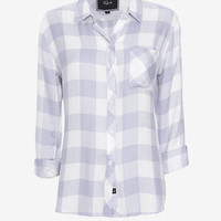 Rails Hunter Plaid Shirt: Blue/White | Shop IntermixOnline.com