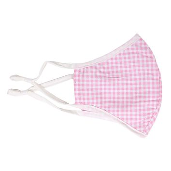 Small Gingham Mask by Pink Pineapple