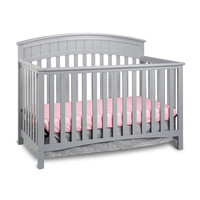 Graco Charleston 4-in-1 Convertible Crib - Pebble Gray