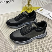 GIVENCHY  Men Fashion Boots fashionable Casual leather Breathable Sneakers Running Shoes08110gh