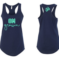 OM grown Yoga  Tanktop