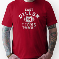 East Dillon Lions Football - 44 Red Unisex T-Shirt
