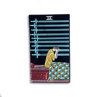 Nine of Swords Card Enamel Pin