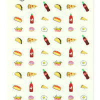 JUNKFOOD NAIL DECALS