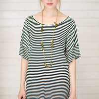 Good Fortune Ribbed Tunic