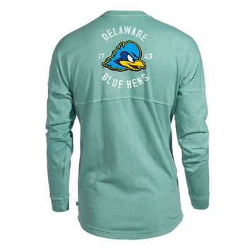 Delaware UD Blue Hens NCAA Women's T-Shirt Women's Long Sleeve Spirit Wear Jersey T-Shirt