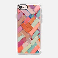 Hot Pink Internodes iPhone 7 Case by Ann Marie Coolick | Casetify