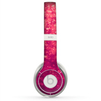 The Unfocused Pink Glimmer Skin for the Beats by Dre Solo 2 Headphones