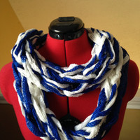 Indianapolis Colts Themed Infinity Scarf