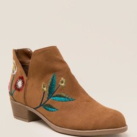 Indigo Rd Chanted Embroidered Ankle Boot