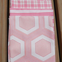 Cotton Fabric, Fat Quarter Bundle, Assorted Rose Pink Fat Quarters, Pinks and Cream colorway Moda Simply Style colorway