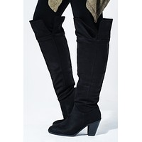 Take You Out Boots: Black