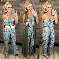 New Kind of Love Floral Print Jumpsuit