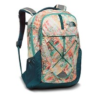 Women's Jester Backpack in Golden Haze Geo Print by The North Face