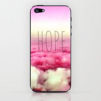 Hope iPhone & iPod Skin by Pink Berry Pattern