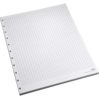M by Staples™ Arc System Graph-Ruled Premium Refill Paper, White, 8-1/2
