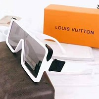 LV Louis Vuitton Hot Sale Women Fashion Personality Sun Shades Eyeglasses Glasses Sunglasses