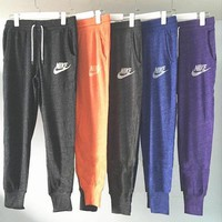 Nike Trending Women Casual Print Gym Pants Sport Sweatpants ( 6-color ) I-1