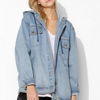 Evil Twin Hooded Denim Jacket - Urban Outfitters