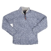 True Grit Men's Frosty Tipped Pile Zip Pullover XXL Putty