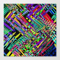 Hello Colour Stretched Canvas by Glanoramay